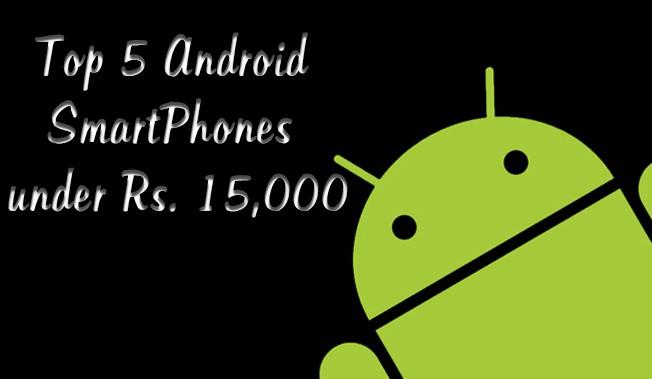 Best 5 Android Smartphones
