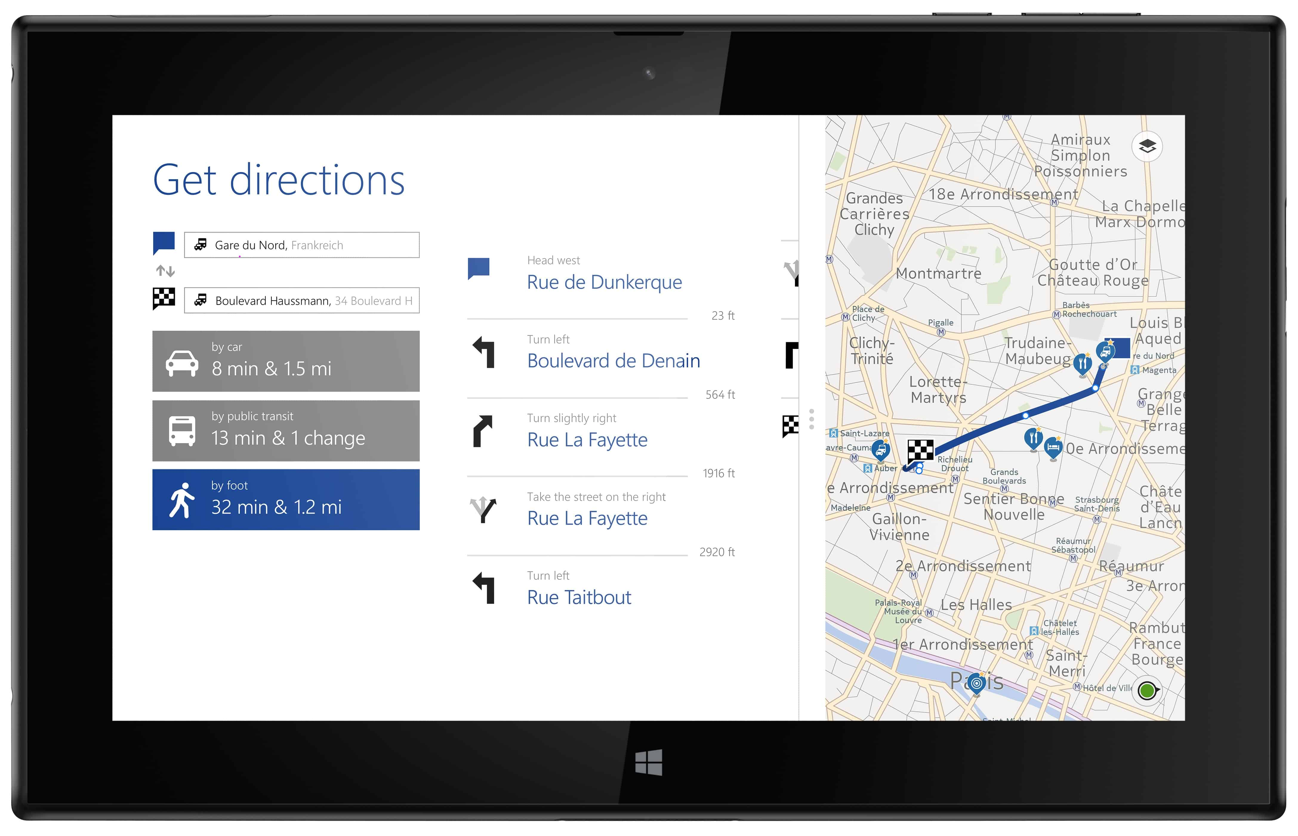 Nokia's HERE Maps For Android Samsung Galaxy Phones. 1