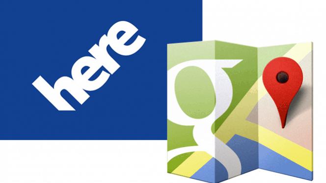 Google Maps VS HERE Maps - Complete Comparison 1