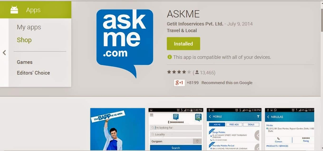 AskMe App - The 'Baap' of All Apps (App Review) 1