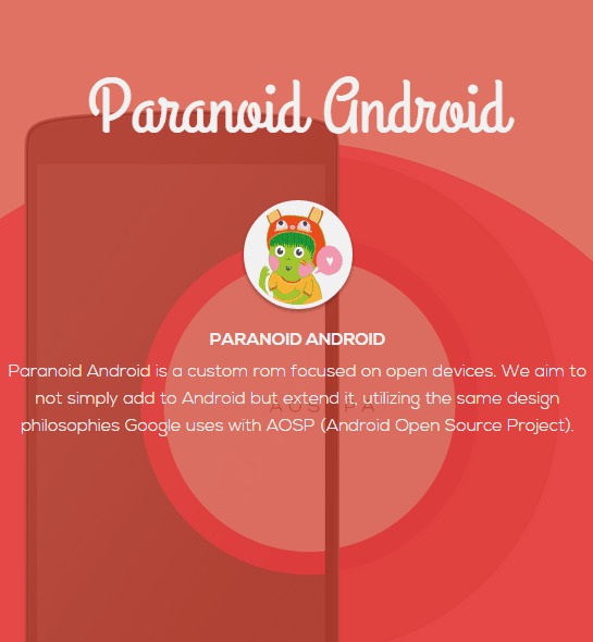 Paranoid Android 4.6 Beta 5 Update for HTC One M7 and HTC One M8. 1