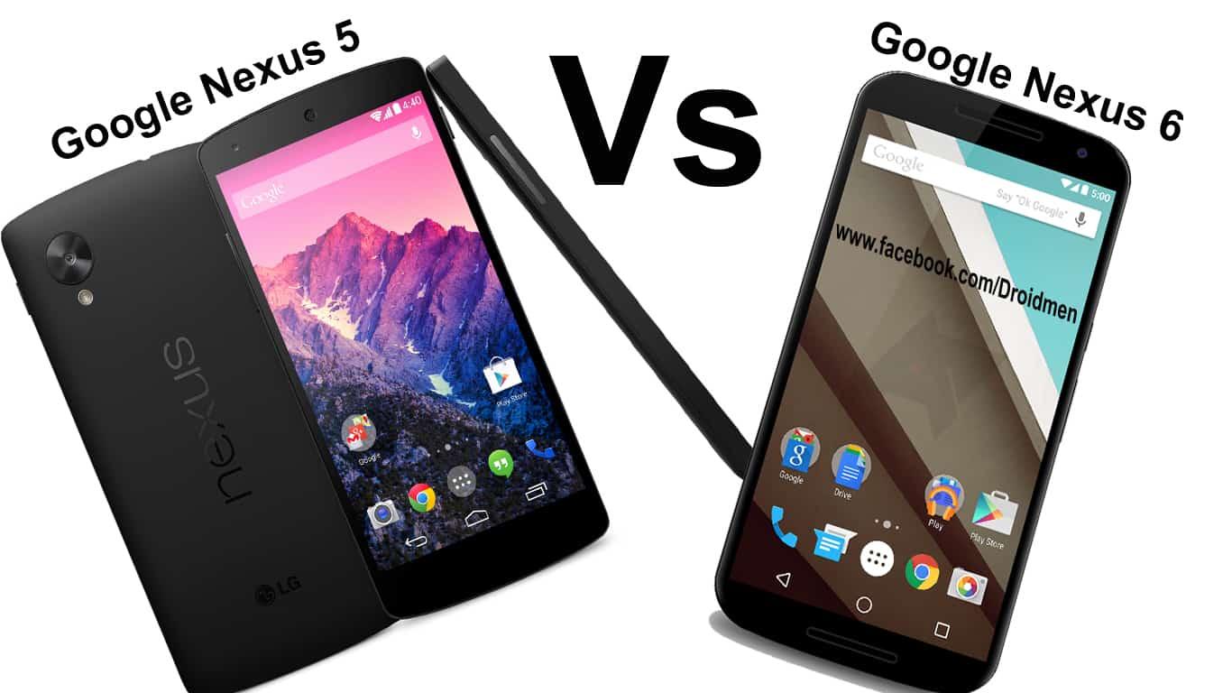 Google Nexus 6 vs Nexus 5 Comparison 1