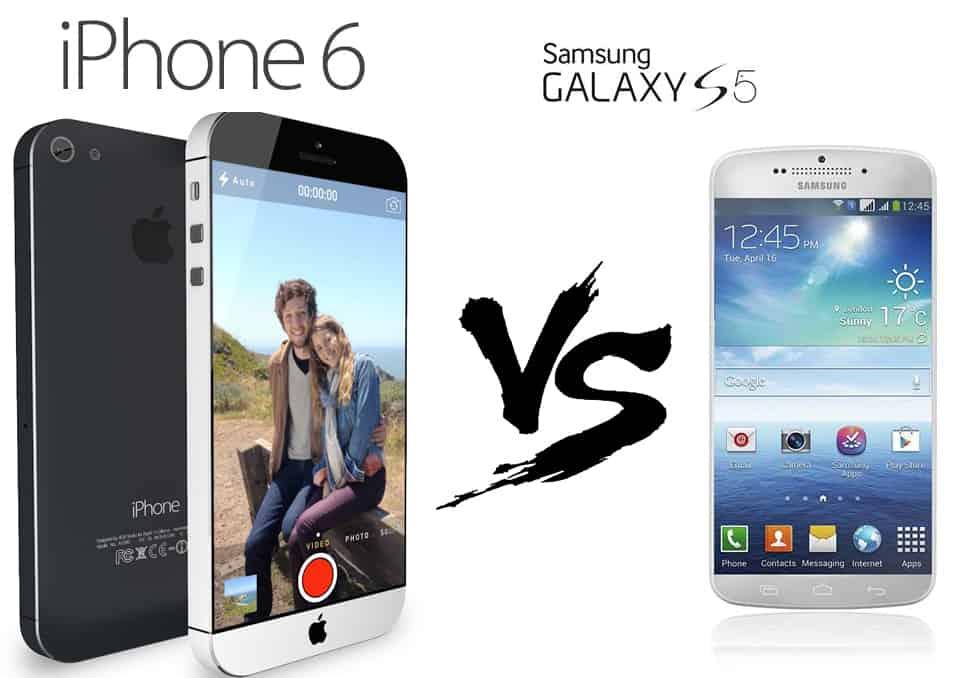 Samsung Galaxy S5 vs iPhone 6 Complete Comparison 1
