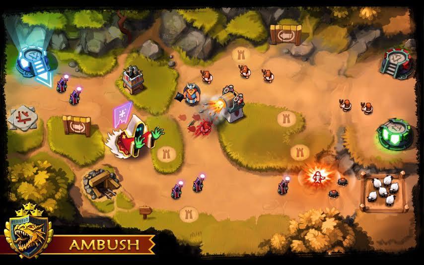 ambush tower offense