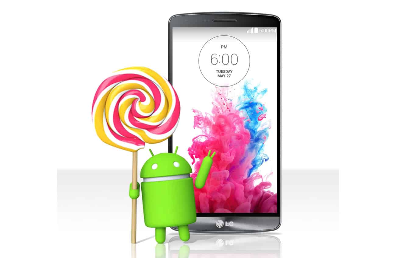 Android 5.0 Lollipop Update For LG G3 Rolling Out 1