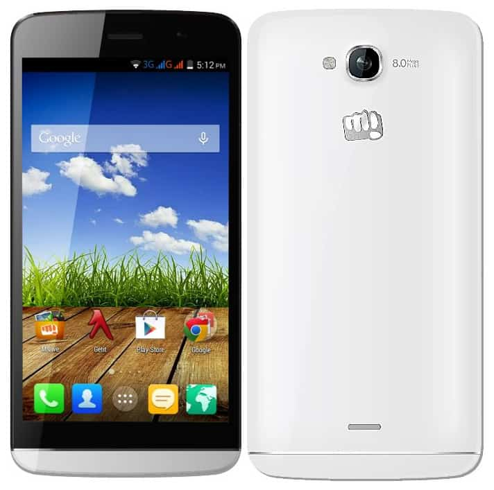 Micromax Canvas L A108 Android 5.0 Lollipop update. 1