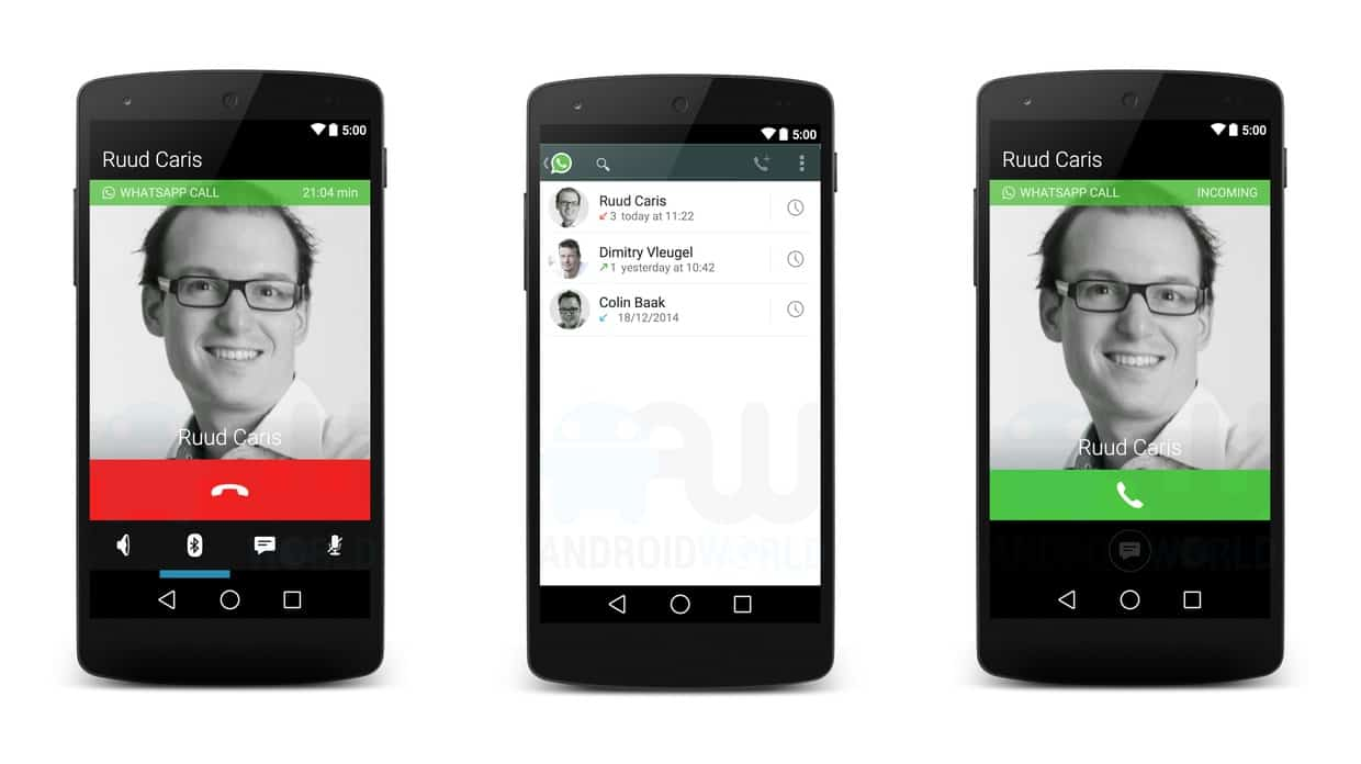 WhatsApp Voice Calling to Launch Soon [Leaked Images] 1