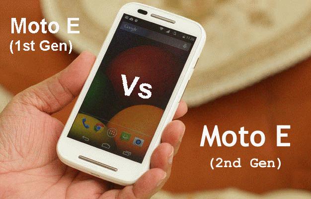 [Rumor Based] Moto E First Gen Vs Moto E Second Gen 1