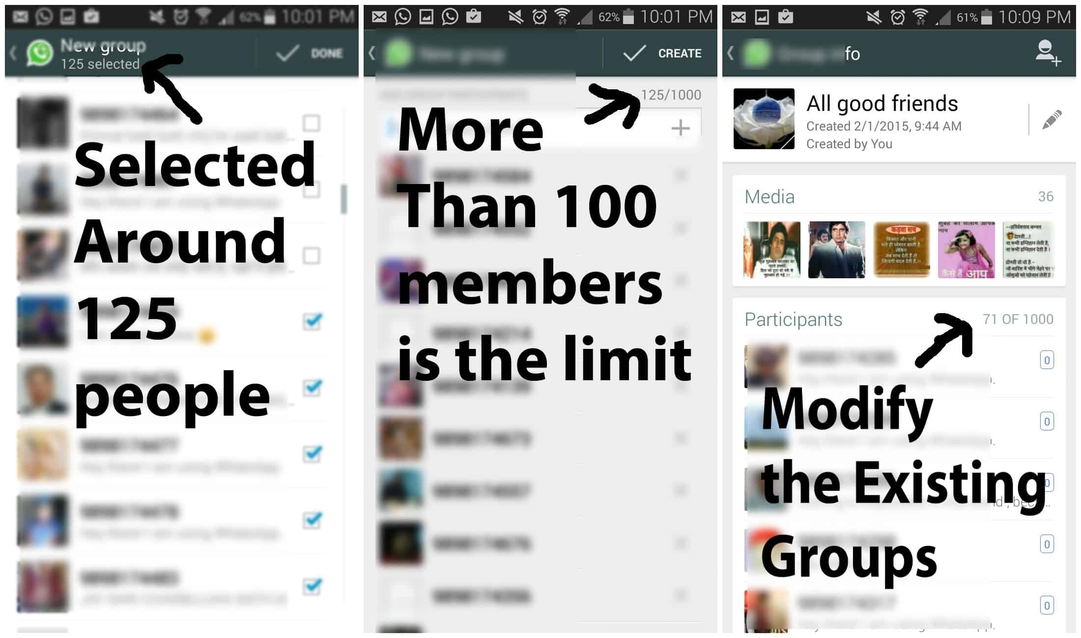 How to Add More than 100 Members in Whatsapp Group 1