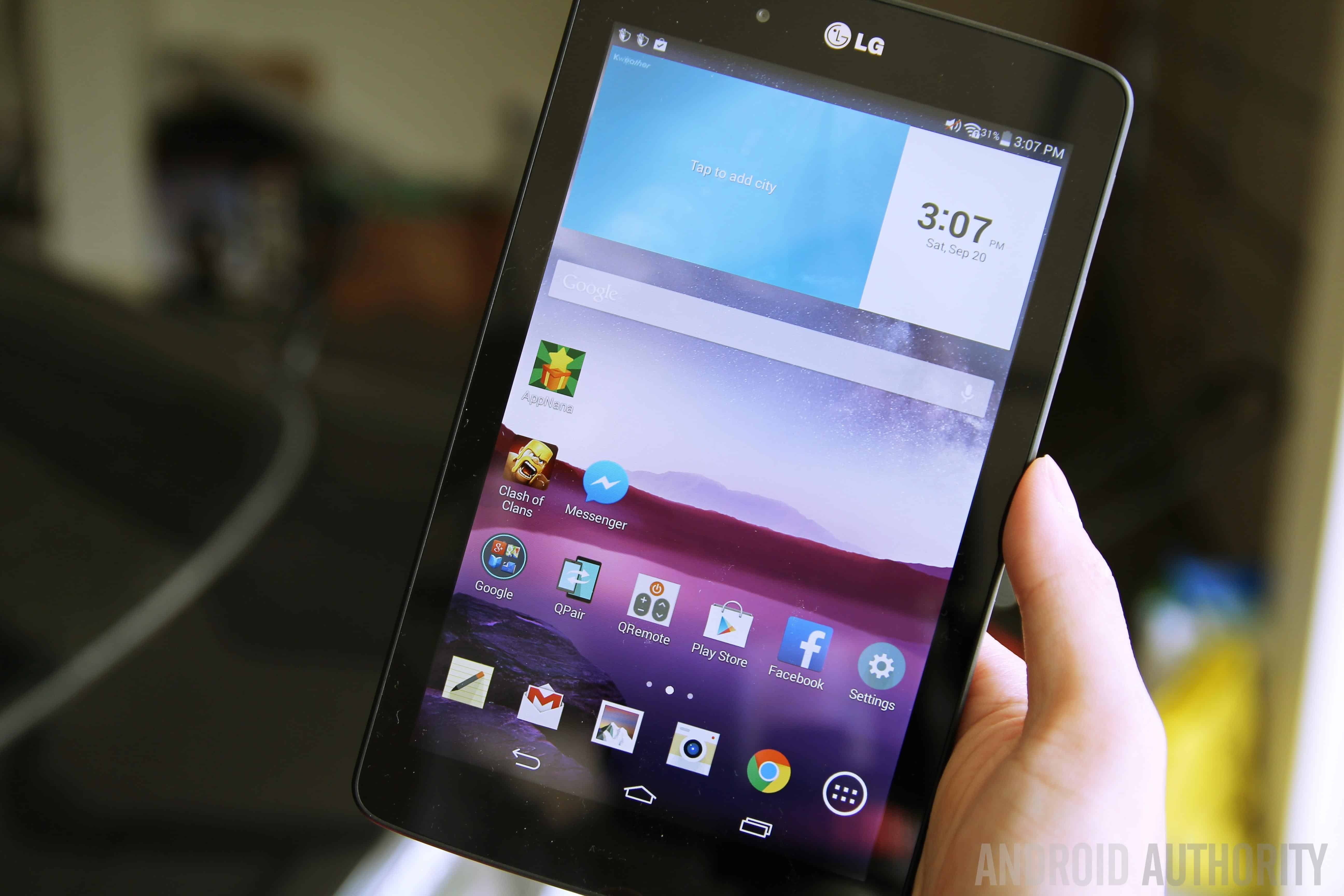 LG G Pad F 7.0 Tablet : First Android 5.0 Lollipop Tablet Introduced in the US 1