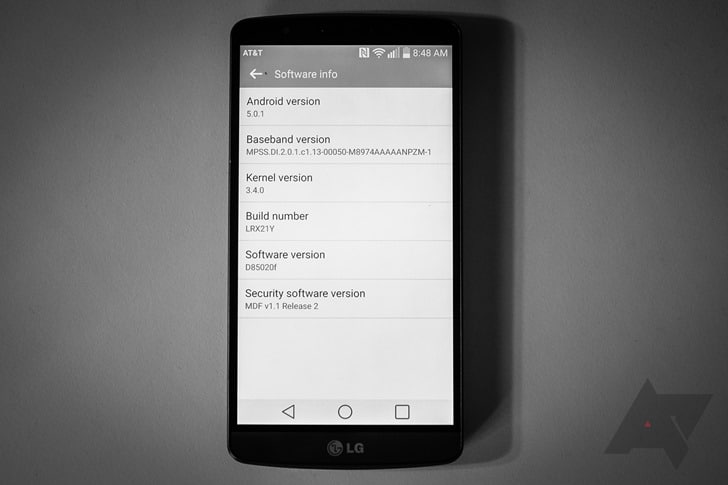 AT&T LG G3 Android 5.0.1 Lollipop Update Rolling Out! 1