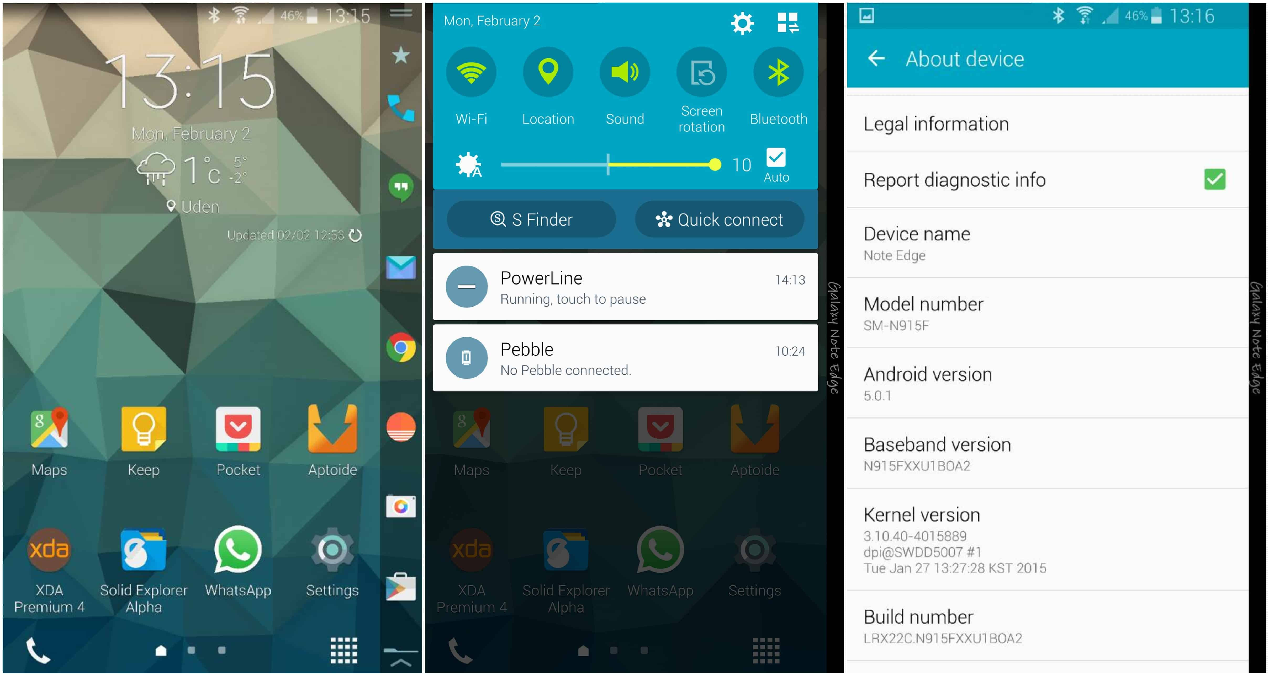 [Leaked] How to Install Android 5.0.1 Lollipop in Galaxy Note Edge. 1