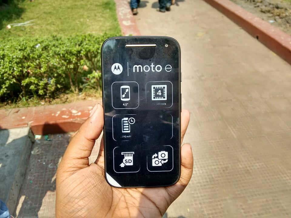 Moto E 2nd Gen India Launch Date : 10th March 1