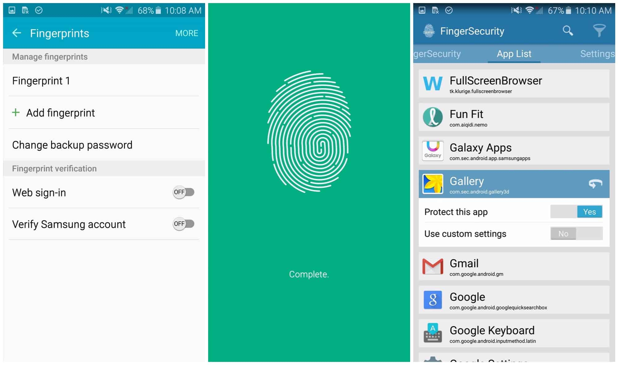 How to Lock Apps Using Galaxy S6's Fingerprint Scanner. 1