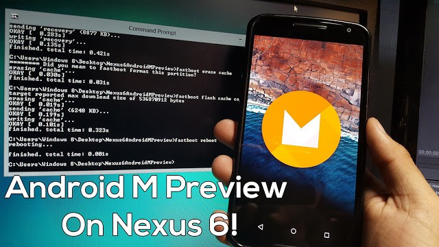 How to Install Android M Developer Preview on Google Nexus 6? 1