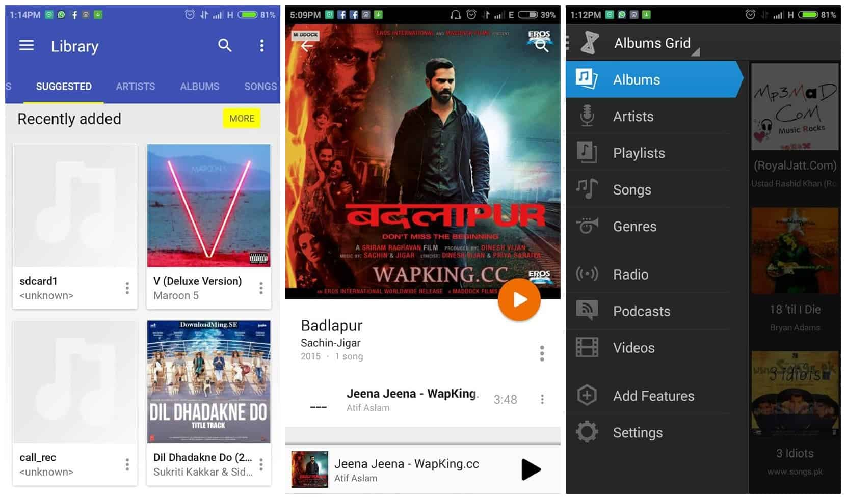 5 Best Music Players for Android FREE 1