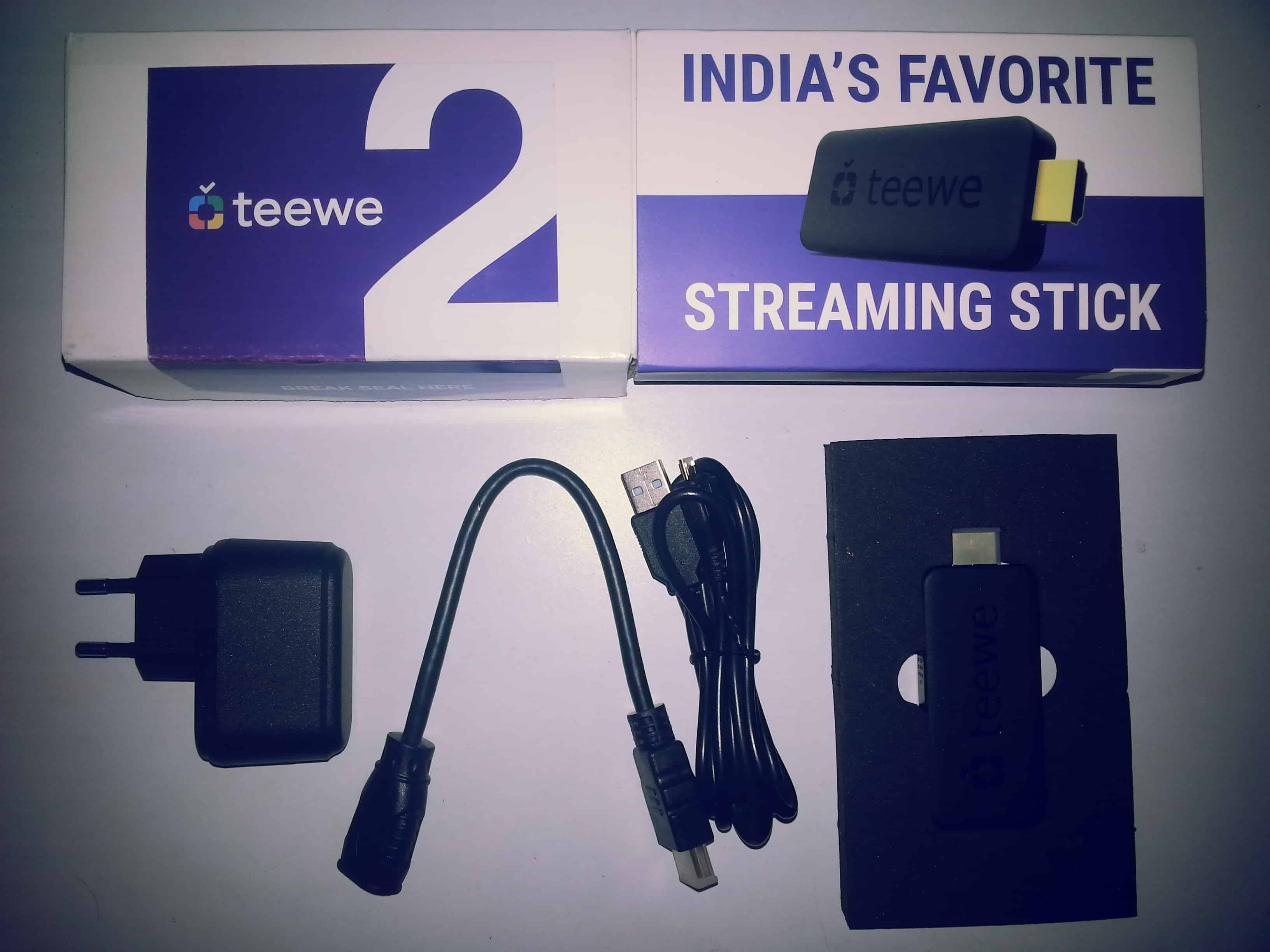 Teewe 2 Review - HDMI Stick that makes your TV 'Smart'. 1
