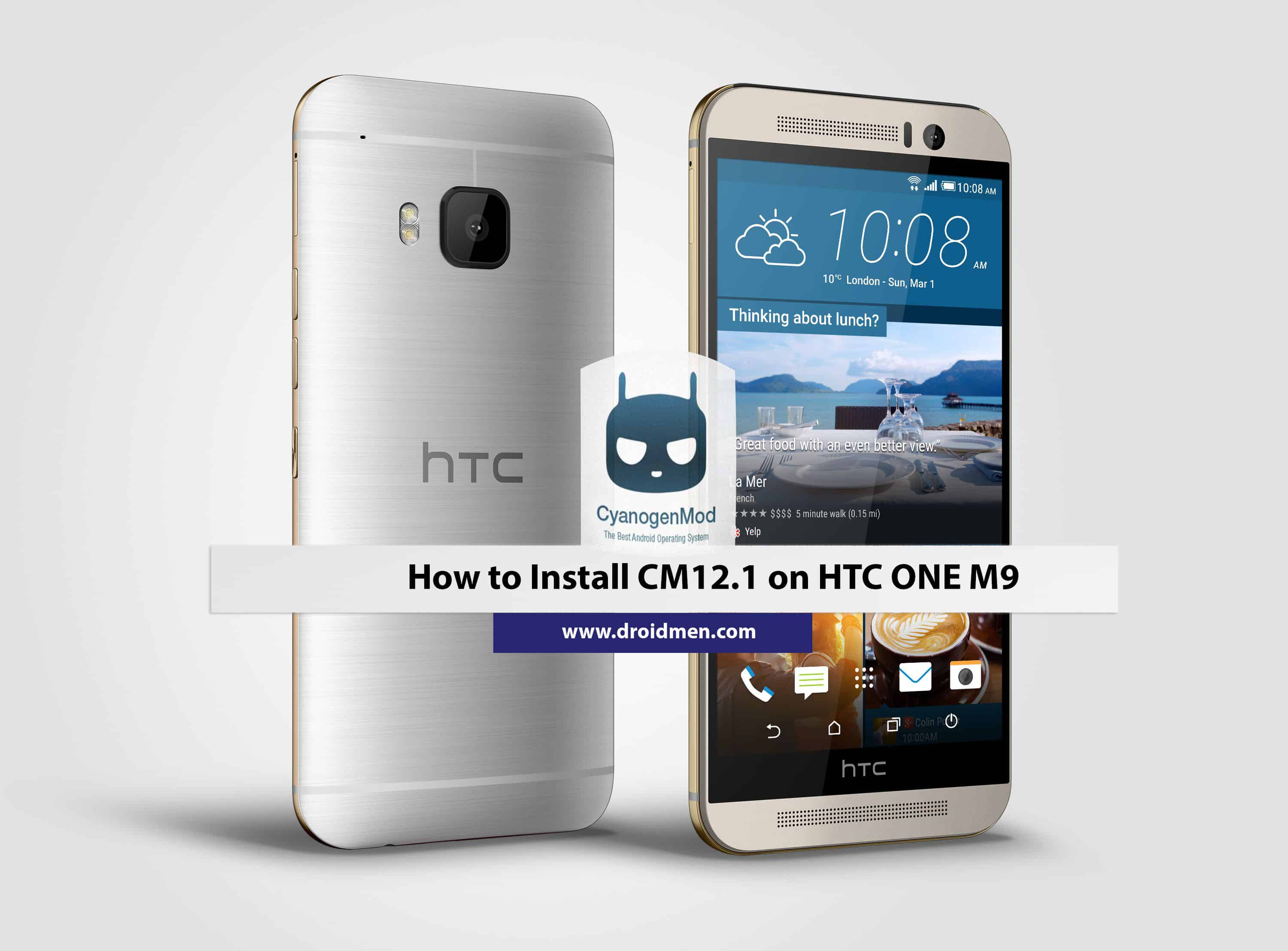 How to Install CM12.1 on HTC One M9 1