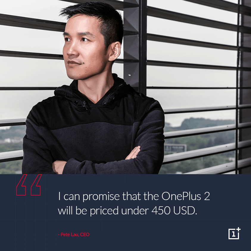 OnePlus Announced the Maximum Possible Price of OnePlus Two. 1