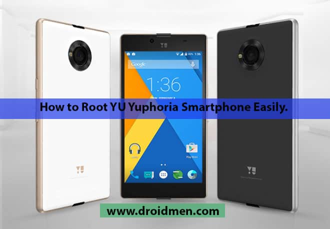How to Root YU Yuphoria Easily? 1