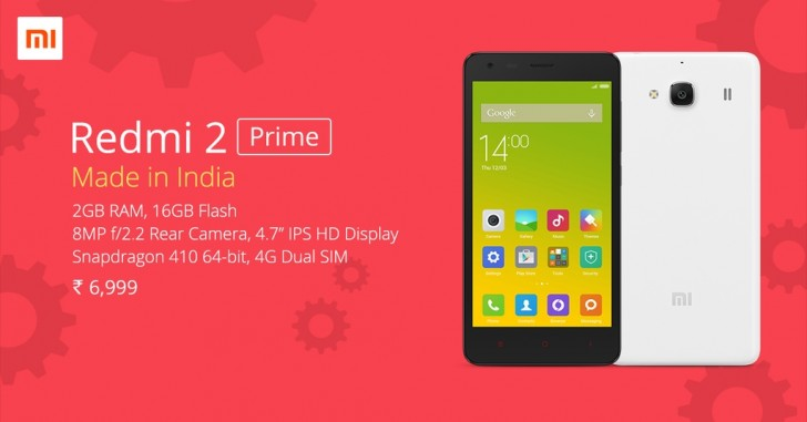 Xiaomi Redmi 2 Prime Details, Specifications and Price. 1