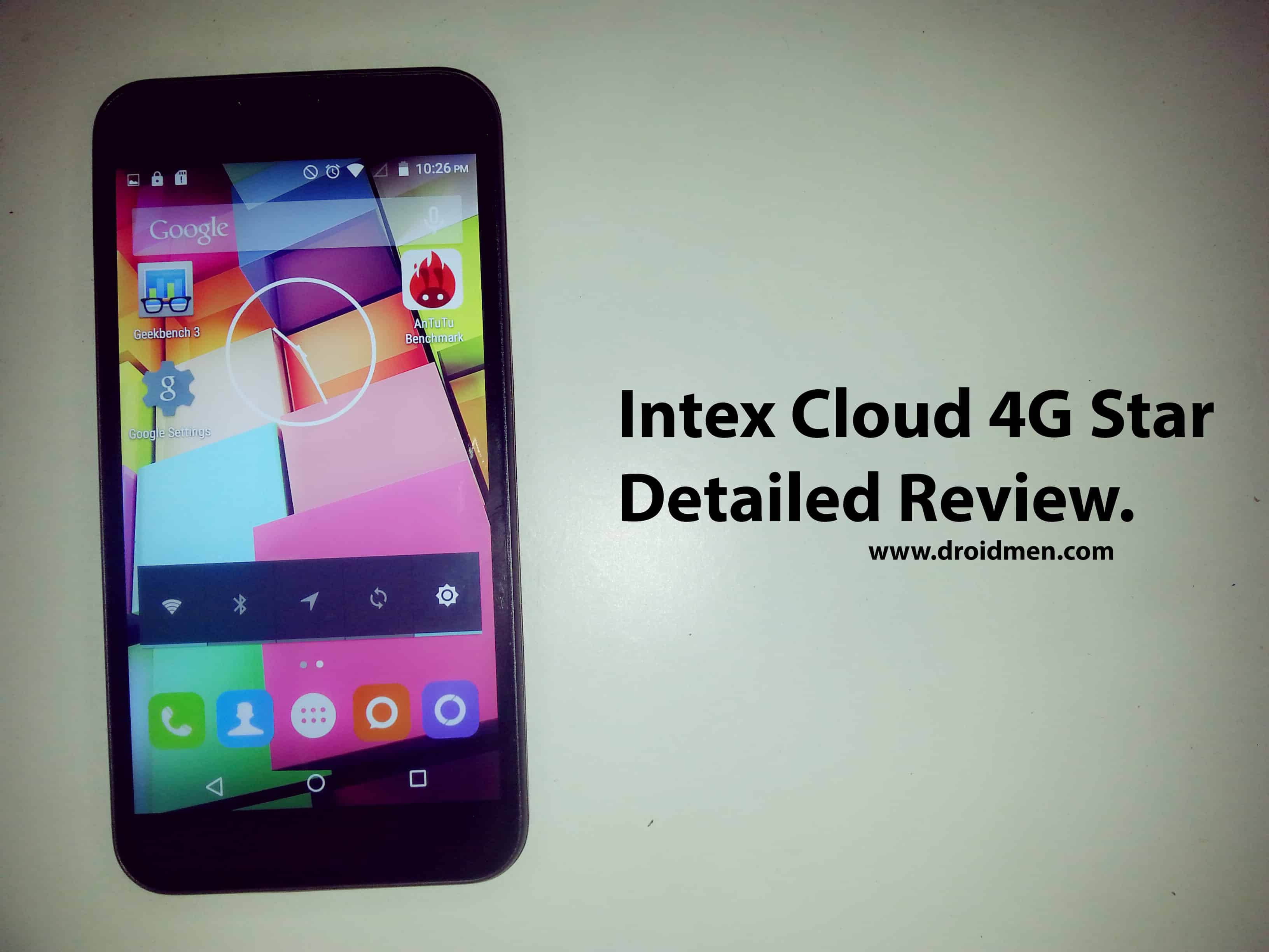 Intex Cloud 4G Star Detailed Review. 1