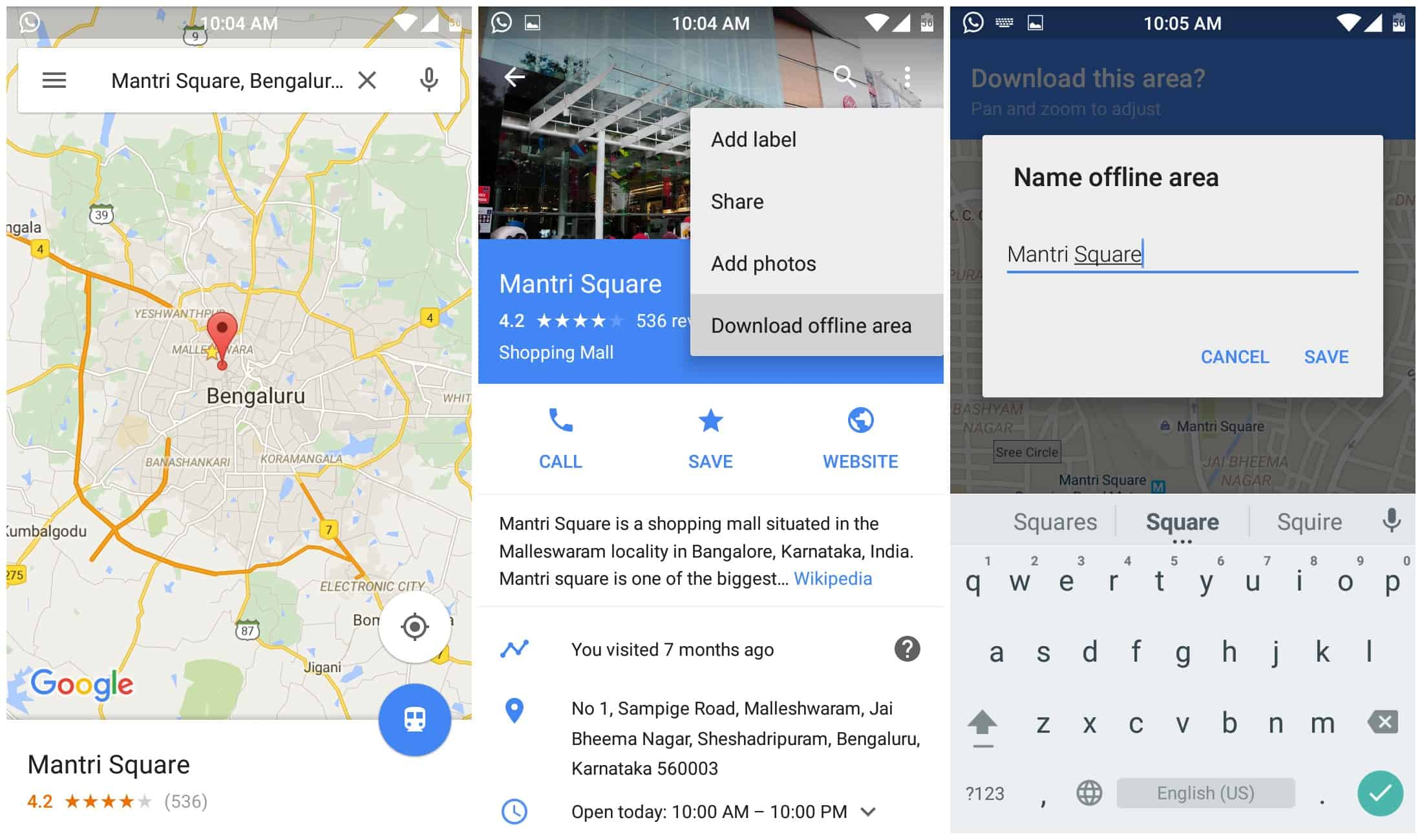 How to Download & Access Google Maps offline. 1