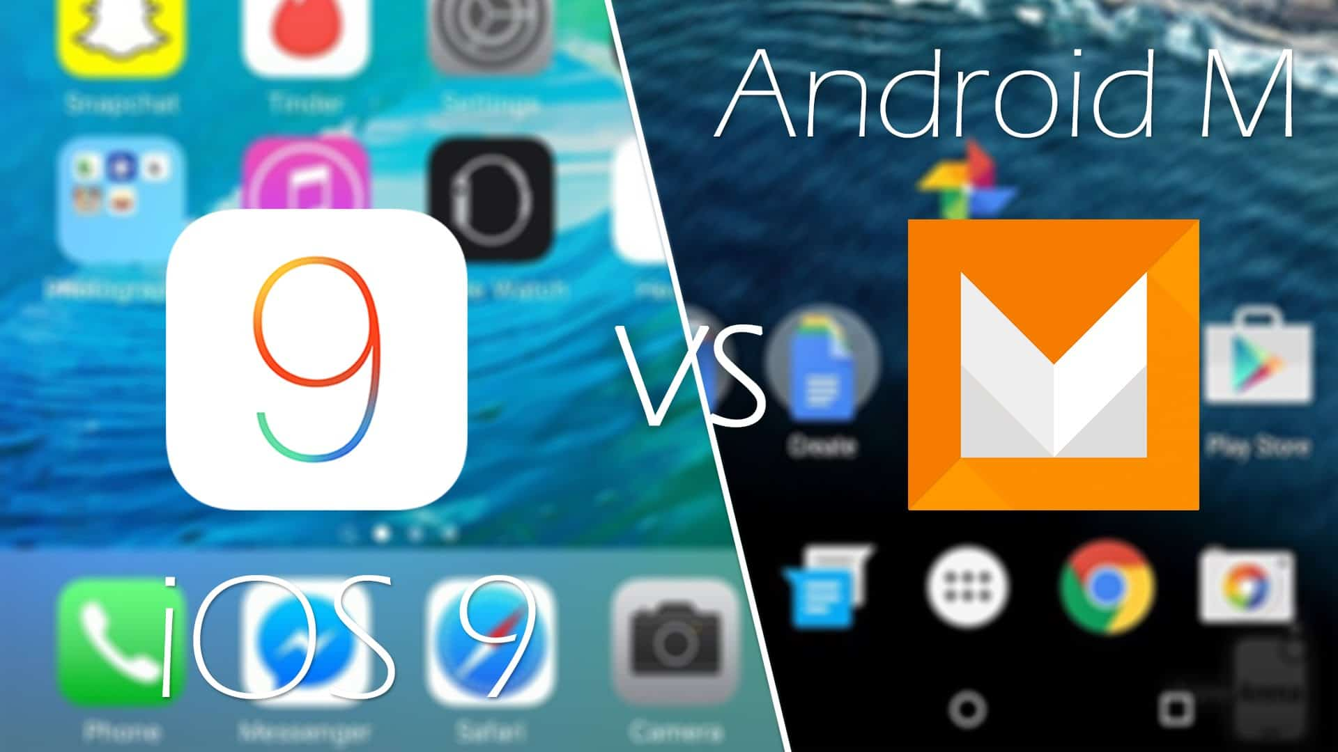 Android Marshmallow Vs Apple iOS 9 Comparison: Which one wins? 1