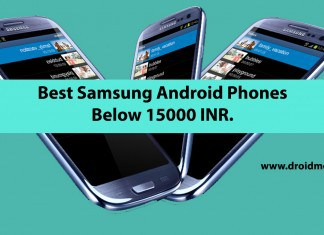 Best Samsung Android Phones Under 15K INR