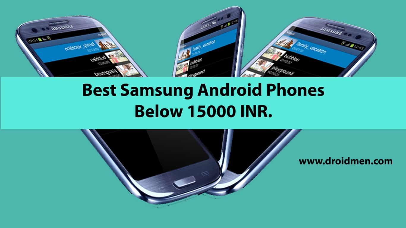 List Of Best Smartphones Under 15000
