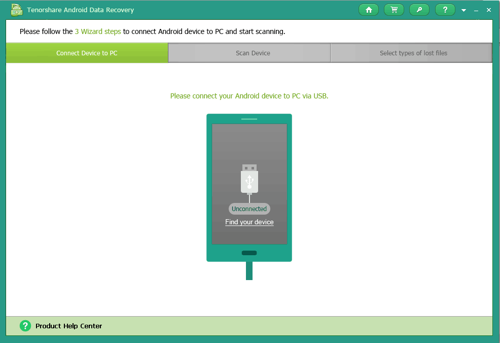 Tenoshare's Android Data Recovery is the Best Android Recovery Software. 1