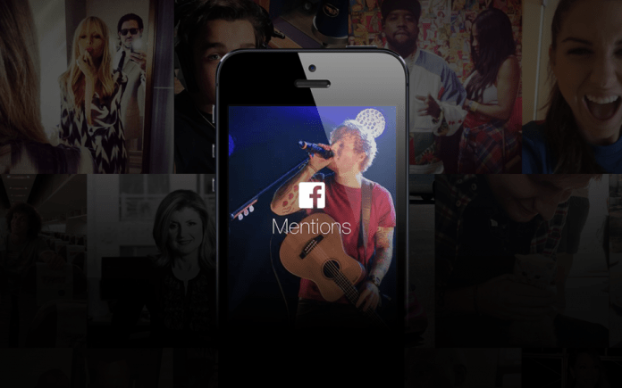 Facebook Mentions App for Android