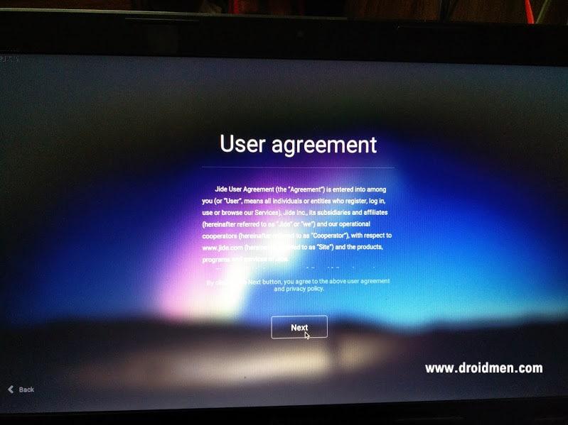 Remix OS 2.0 User Agreement