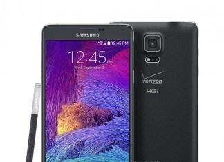 Verizon Galaxy Note 4.