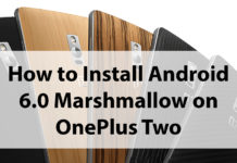 Steps to Install Android 6.0 Marshmallow OnePlus Two