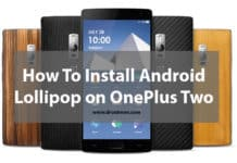 Steps to Install Android Lollipop on OnePlus Two