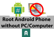 Rooting Android Phone without PC is easy, you can use the solutions listed in this article to root your android devices without PC