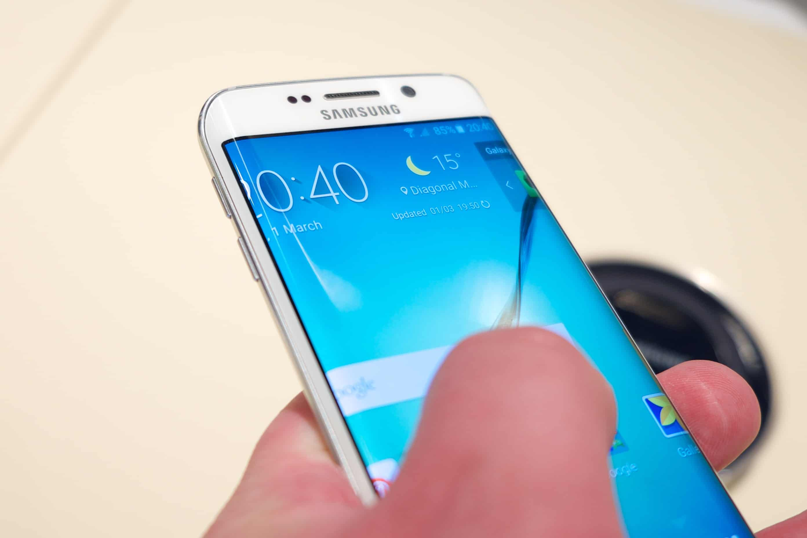 TouchWiz UI Galaxy Note 6, Galaxy Note 6 TouchWiz, Android N on Galaxy Note 6