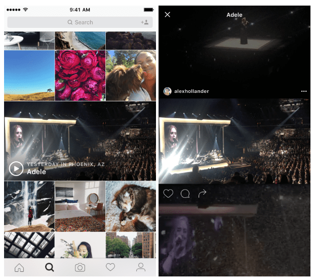 Instagram Will Keep You Up-to-Date On Live Events