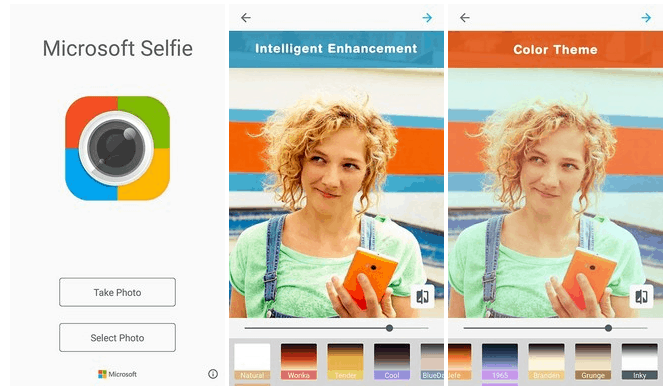 Microsoft Selfie comes to Android, available on Play Store for download