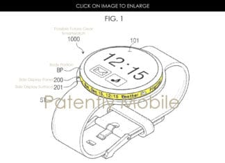 Samsung Patents Hint At Gear Smartwatch With Rotating Dial Display 1
