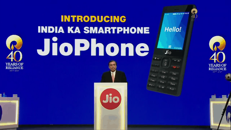 Jio Phone Enters Beta Testing: Public Registrations to Begin on 24th August