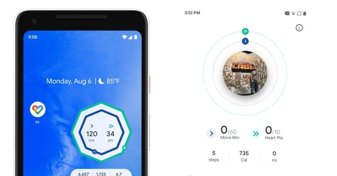 Google Fit Android app update brings home screen widget and quicker access to health progress 1