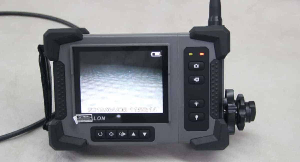 flexible borescope camera