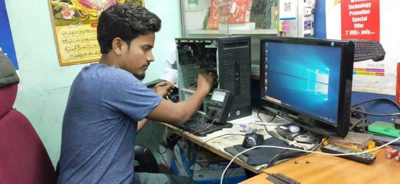 Salaire technicien en réparation informatique