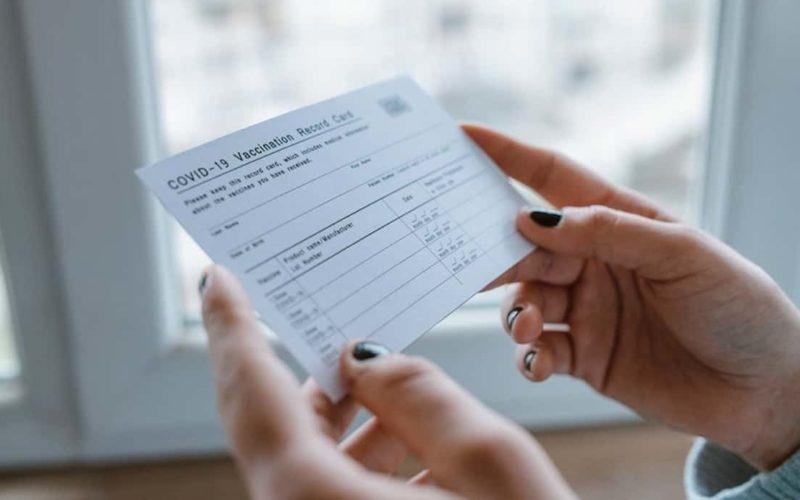 Custom Vaccination ID Cards